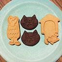 ゆぱんきオリジナルクッキー型 デザイン